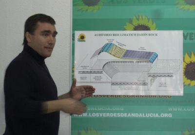 CULTURA REMITE A URBANISMO EL PROYECTO VERDE DE AUDITORIO BIOCLIMÁTICO ZAIDÍN JAZZ-ROCK