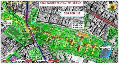 LA JUNTA RESPONDE SOBRE NUESTRA PROPUESTA DE PARQUE CENTRAL DEL MILENIO EN RENFE