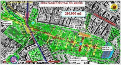 SALVEMOS LOS PASEÍLLOS CON EL GRAN PARQUE CENTRAL DEL MILENIO EN RENFE