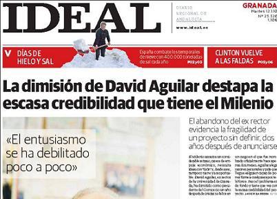 Los Verdes Acusa al PSOE granadino de incapaz de consensuar la celebración del Milenio