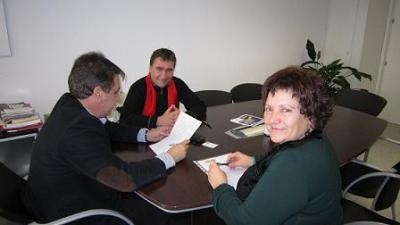 LOS VERDES INICIA CONVERSACIONES CON UGT Y CCOO