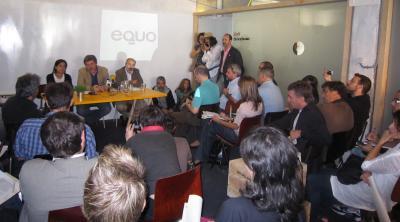 Mario Ortega apoya la política ecologista de EQUO