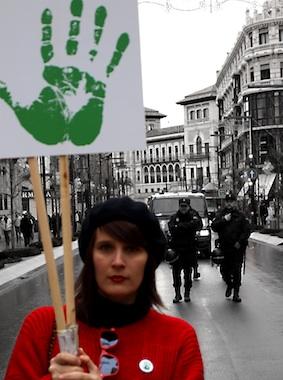 Actúa Verde Granada en la calle