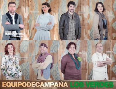 El equipo del candidato Mario Ortega - Los Verdes, te felicita
